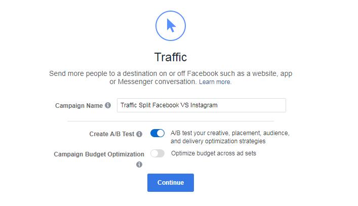 facebook拆分测试